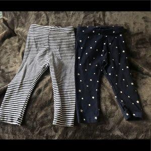2 old navy leggings